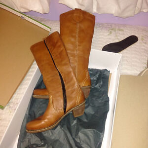 Ladies Rieker Leather Boot