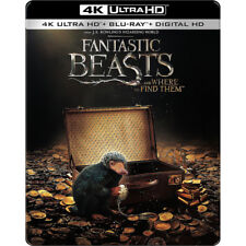 Fantastic Beasts and Where to Find Them Steelbook (2017, 4K, Blu-ray)