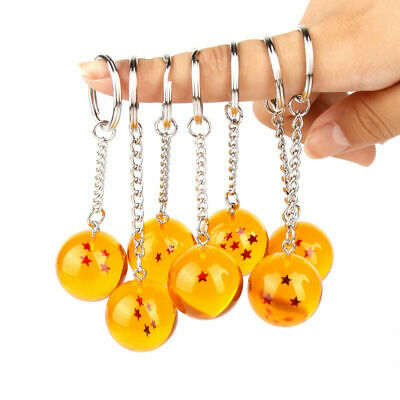 DRAGONBALL Z DRAGON BALL KEYCHAIN KEYRING KEYFOB. NEW.