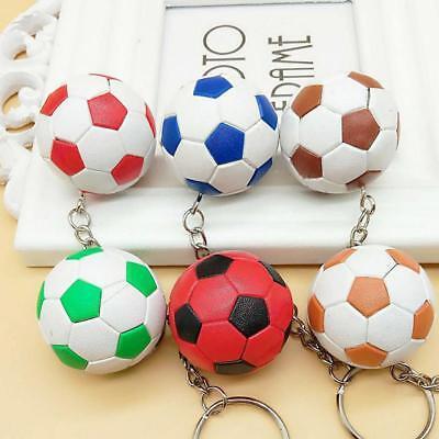 NOVELTY Play Keychains SOCCER BALL KEY CHAIN Sport Fan Collect Team Ball -