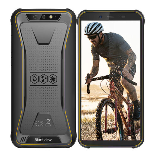 Blackview BV5500 Outdoor Smartphone Ohne Vertrag 2GB/16GB Dual SIM Handy Gelb