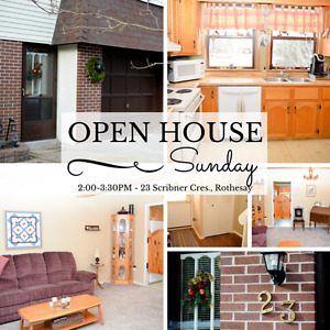 OPEN HOUSE SUNDAY!! MARCH 12, 2:00-3:30PM