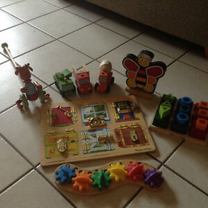 Wooden Baby/toddler toys