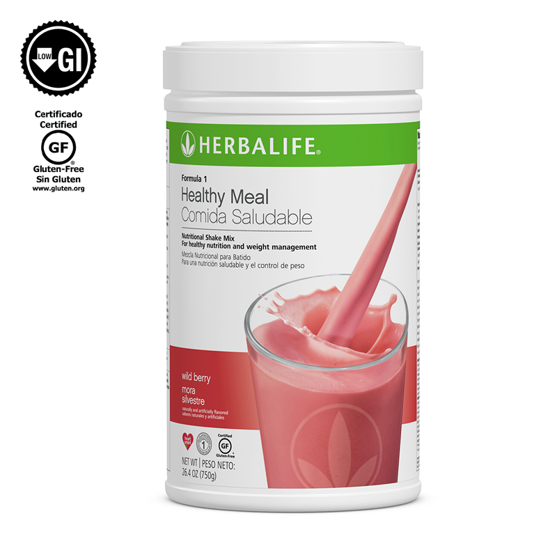 NEW Herbalife Formula 1 Healthy Meal Nutritional Shake Mix Wild Berry 780 g