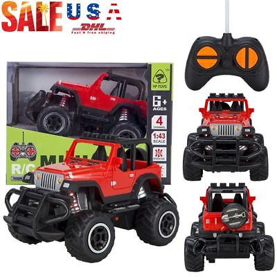 Toys for Kids RC Car Remote Control Jeep Suv Buggy Baby Boys Best Birth