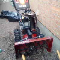 "Craftsman 30"" 13 HP snow blower"