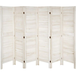 Modern Venetian Room Divider, 6 Panels, ready to be painted