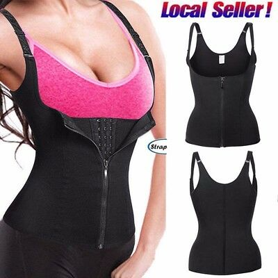 (Fajas Colombianas Waist Cincher Firm Tummy Control Corset Slim Body Shaper Vest)