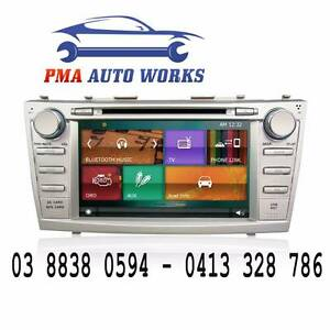 "ANP 8"" Car Stereo DVD Head Unit GPS Bluetooth Toyota Camry Aurion Melbourne Region Preview"