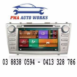 "ANP 8"" Car Stereo DVD Head Unit GPS Bluetooth Toyota Camry Aurion"