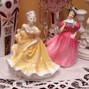 RETIRED ROYAL DOULTON FIGURINES CAMELLIA DIANA MANY OTHERS