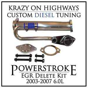 Ford Powerstroke EGR Delete Kit (2003-2007 6.0L)