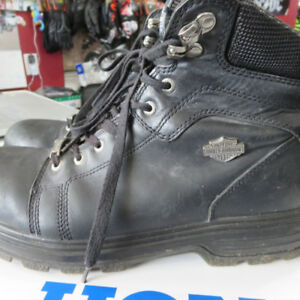 Men's Harley Davidson Motorcycle Boots 10.5 Only $60 RE-GEAR