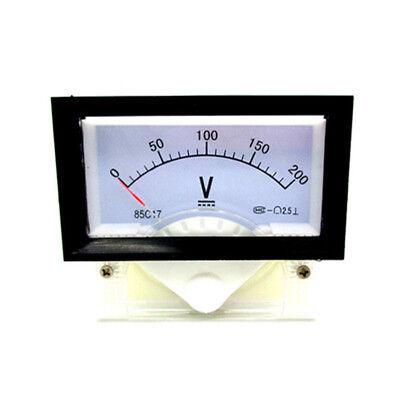 New Dc 0-200v Analog Dial Panel Meter Voltmeter Gauge Voltage Meter 7060