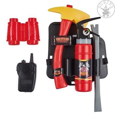 RUB 6300973 Feuerwehr Set Spielzeug Kostüm Zubehör Werkzeug Gürtel Halfter NEU