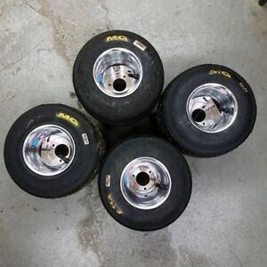 Used Go kart rims and tires