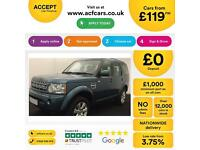 Land Rover Discovery 4 FROM £119 PER WEEK!