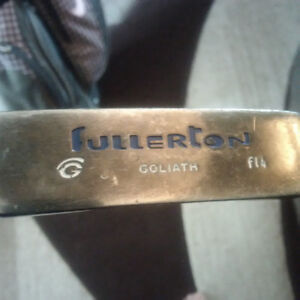 2 x Goliath LH Putters (Mallet  & Peripheral Weighted Styles)
