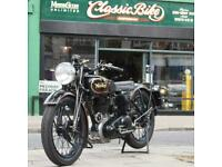 1940 Norton 16H Girder Fork WD Classic Vintage Fitted With 1954 ES2 490cc Engine