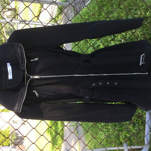 Black womens coat (from Ricki's)