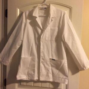 MOBB White Lab Coats Size XXS