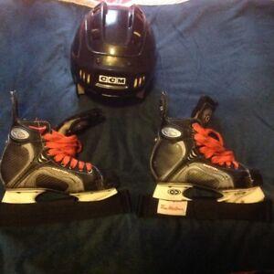 Boy's Skate & Helmet Package