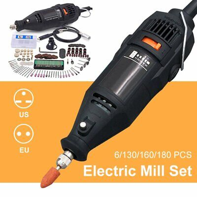High Precision Usb Electric Mini Grinder Carving Polishing Drilling Machine Set