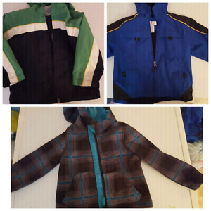 Boys size 3 coats