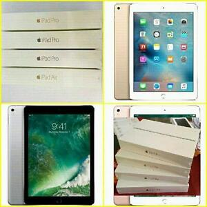 Brand New iPad Air 2/iPad Pro 9.7/ Full Apple Warranty!!***  Selling Brand New Factory Sealed in Box Apple iPads