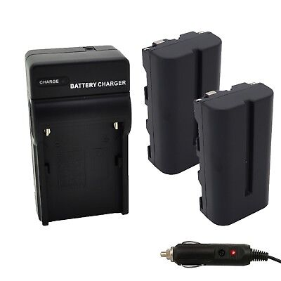Progo 2 Battery & Charger Set for Sony NP-F550/570, 2600mAh for LED Vedio Light