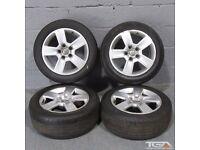 "16"" Audi A4 5 Spoke Alloy Wheels will fit Audi A4, A3, VW Golf MK5, MK6, MK7, Jetta, Caddy Van"