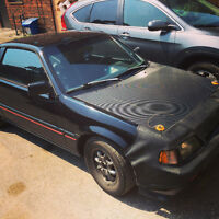 VIDEO!!! CLEAN CRX SI FOR SALE $4500 OBO