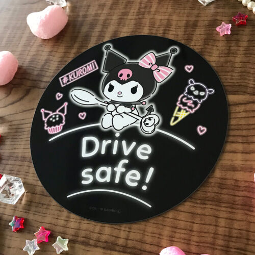 SANRIO My Melody KUROMI Magnet Sticker Car accessory Japan Kawaii