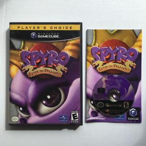 Nintendo Gamecube - Spyro : Enter The Dragonfly
