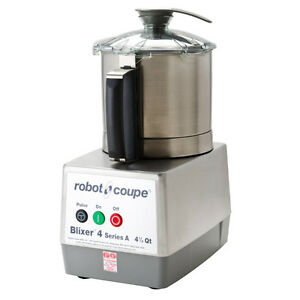 Robot Coupe Blixer 4 Food Processor with 4.5 Qt. Stainless Steel