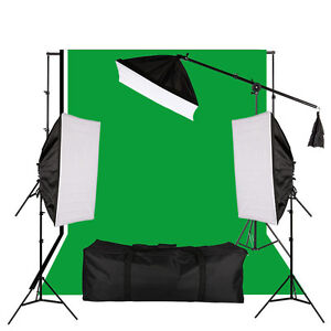 Professional Photo Video Studio All In One Lighting Kit- $189