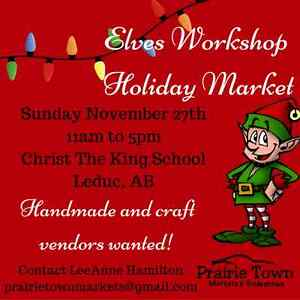 Looking for local vendors to join Nov 27th Market! Strathcona County Edmonton Area image 1