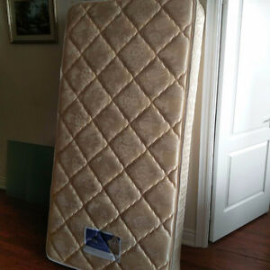 SINGLE BED MATTRESS & FRAME FOR SALE