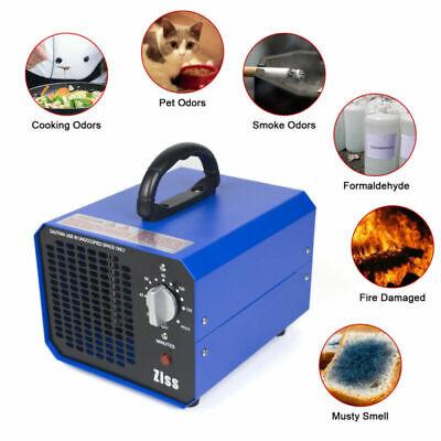 10000mg Ozone Generator Room Air Purifier Smoke Remover Home Ionizer Ozonator