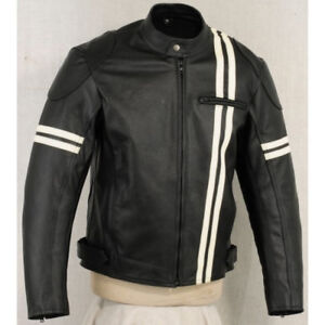 Biker Leather jacket High Quality Genuine Leather