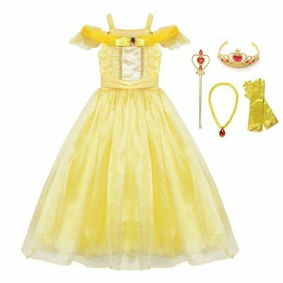 Princess Halloween Dress Up Cosplay Costume Little Girl Prom Clothing For Kids](Dress Up Clothes For Little Girls)