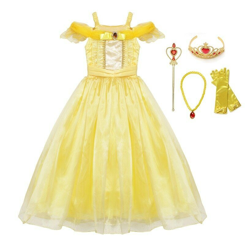 princess halloween dress up cosplay costume little