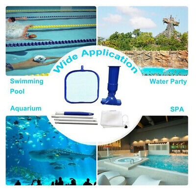 Swimming Pool Vacuum Cleaner Electrical Hot Tub Cleaning Robot Cleaning Tool QA