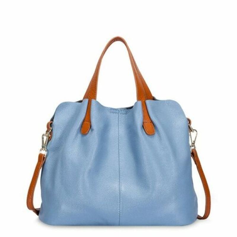 Genuine Leather Bag Female Women's Handbags Crossbody for Wo