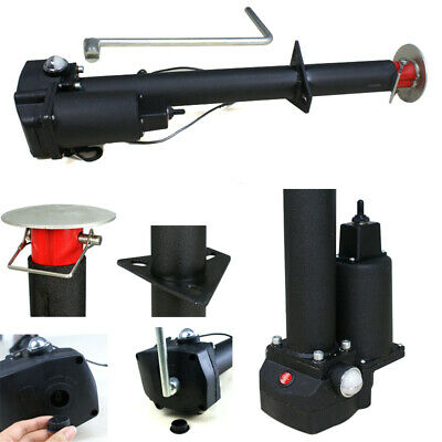 12V 3500 LBS Electric Power Tongue Jack RV Utility Boat A-Frame Trailer Camper (Power Trailer)