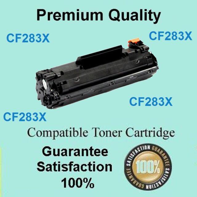2x TONER Cartridge CF283X 83X For HP LaserJet PRO M201dw M201n M225dn M225dw