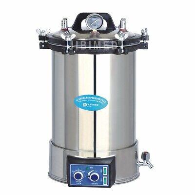 24l Portable Autoclave Sterilizer Stainless Steel Steam Sterilizer Yx-24ldj
