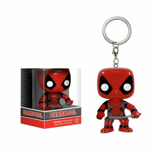 Keychain Funko Pocket Pop! Baby Groot, Giant, Dead Pool Vinyl Spider Iron Man #1