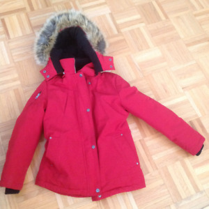 Down Filled Girl's Winter Jacket size Medium Youth