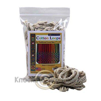Cotton Loops - Flax Old Fashion Pot Holder Loom 2 OZ